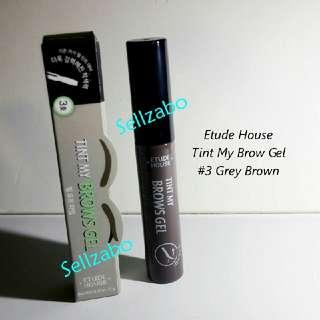 #3 Grey Brown Etude House Colour Tint My Brows Eyebrow Eyes Makeup Cosmetics Eyesbrow Sellzabo