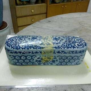 Ceramic Porcelain Cover Box Antique Antik 7