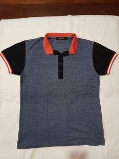Dark Blue Folded & Hung Polo Shirt (Small)