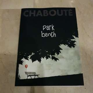 Chaboute Park Bench Graphic Novel Comic