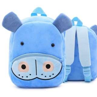 BACKPACK - ZOO PLUSH HIPPO