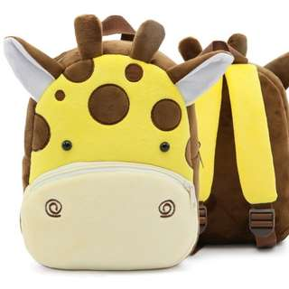 BACKPACK - ZOO PLUSH GIRAFFE