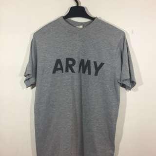 Us Army shirt kain 100 poly made USA