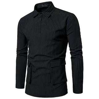 MFCYG8994- Casual Long-Sleeved Button Up Shirt
