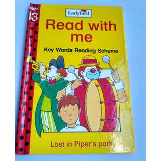 Ladybird Read with Me Keyword Reading Scheme for preschool children Free normal postage