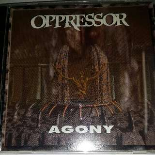 Music CD (Metal): Oppressor ‎– Agony