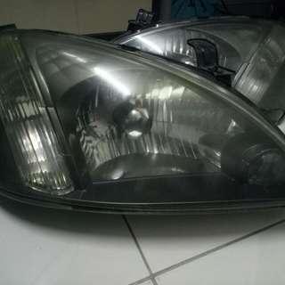 Nissan Sentra N16 smoke headlamps