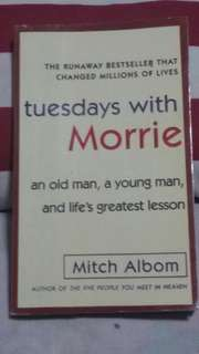 Mitch Alboum:Tuesdays with Morrie
