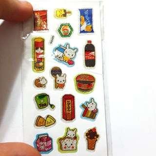 Cute sticker series