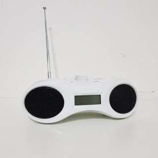 Portable Desktop AM/FM Radio