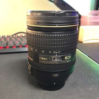 Nikon afs 24-120m F4