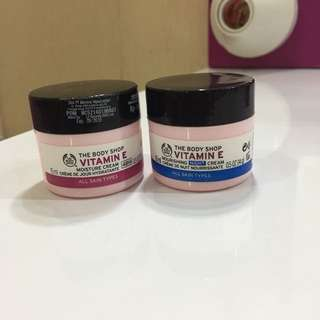 Day Cream & Night Cream Vitamin E The Body Shop