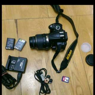 Nikon D5000 full Set DSLR