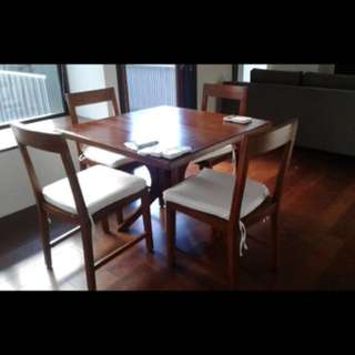 Dinner Table For Sale , 100cm By 100cm