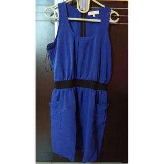 Colorbox Dress Blue