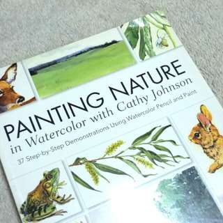 Painting Nature in Watercolor Book