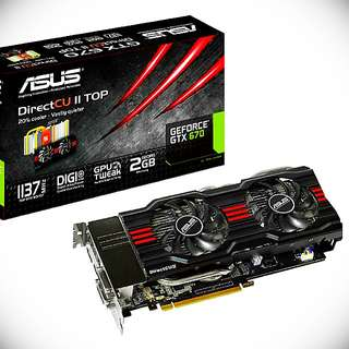 ASUS GTX 670 Dual Fan Graphics Card