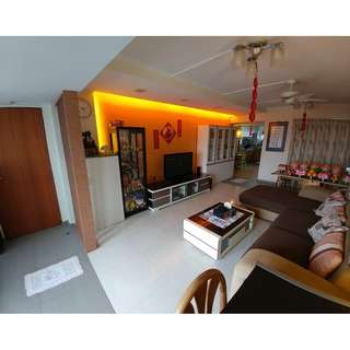 Spacious, Windy, Well Renovated HDB 5I Apartment for Sale!
