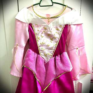 Original Disneyland Princess Aurora Dress size M age 7-8