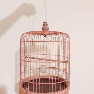 Wodden bird cage