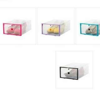 Shoebox storage box