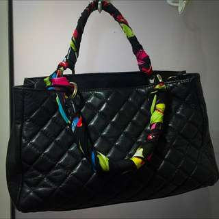 Leather Black Bag ITaLY