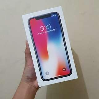 iPhone X 256GB Space Grey Brand New