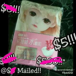 Clearance sale all 7 pcs @$5 Mailed!! Bisutang mask