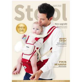 Kingrol 3in1 Baby Carrier With Hipseat