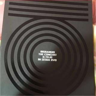 bigbang 0 to 10 final concert dvd十週年演唱會dvd