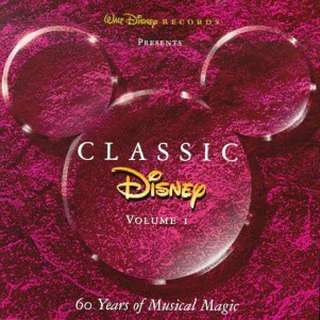 Classic Disney, Vol. 1: 60 Years of Musical Magic Music CD
