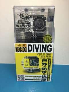 【超高清1080P運動型攝影機】戶外/防水/抗壓