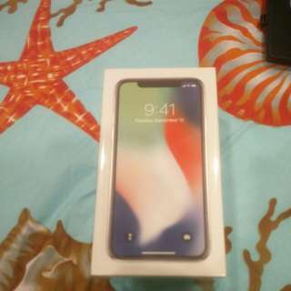 256gb silver iphone x for sale