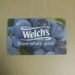 全新威路氏 Welch's 限量4GB USB 一隻
