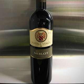 Natale Verga Veneto Merlot 2009 Red Wine 意大利紅酒