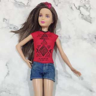 Casual wear barbie