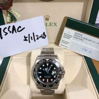 Rolex GMT MASTER II 116710LN綠針