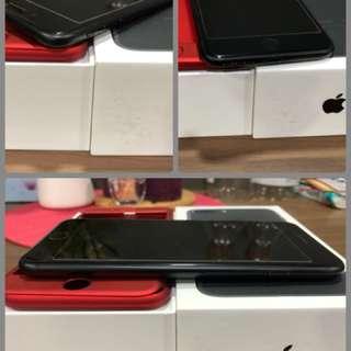 Sell> iPhone 7+ plus 128gb matt black. With full coverage!
