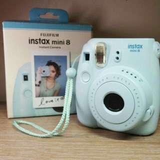 富士拍立得相機instax mini8【藍】