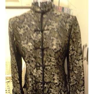Mandarin Coat for lady