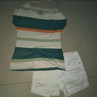 Penshoppe stripes blouse