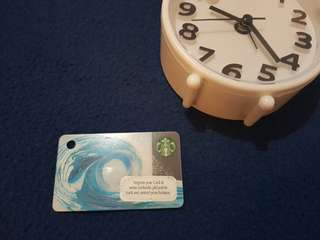 PH Starbucks Card (waves) - for collection only
