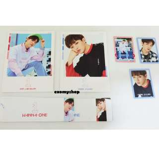 [Ready Stock] Wanna One- 1X1=1 (TO BE ONE) Official Postcard and Photocards