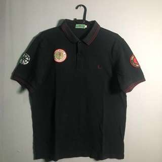 FRED PERRY Twisted Wheel Black (FREE 1 PATCH)