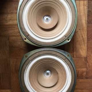 [Vintage & Rare] Coral Flat 8 Fullrange Speaker Drivers