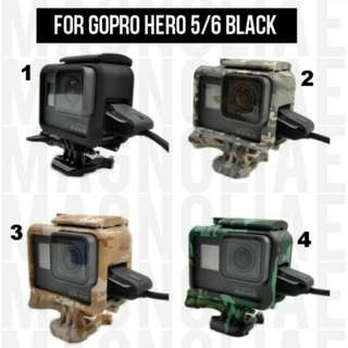 GoPro Frame Case for Hero 5 / 6 Black