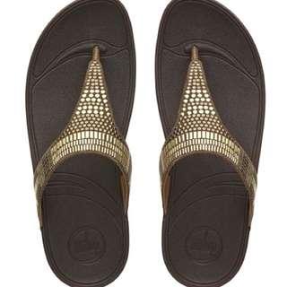 FitFlop™ Aztek Chada Sandals - Chocolate Brown