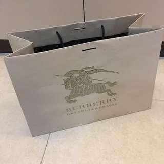 Original Burberry paper bag
