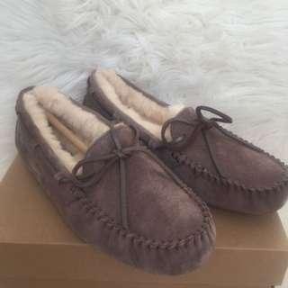 UGGS Dakota Metallic loafers
