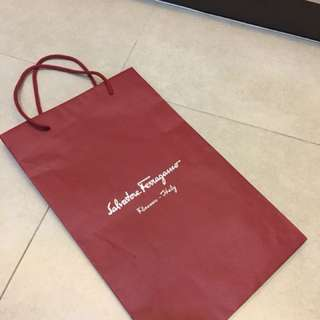 Original Salvatore Ferragamo paper bag